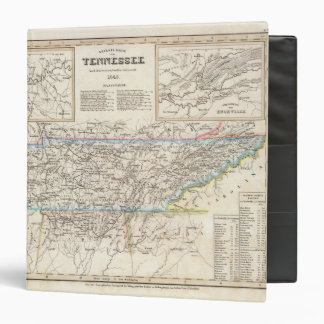 Tennessee 6 3 ring binder
