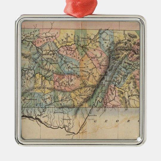 Tennessee 7 metal ornament