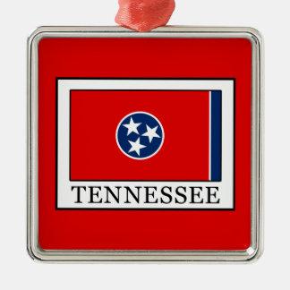 Tennessee Adorno Navideño Cuadrado De Metal