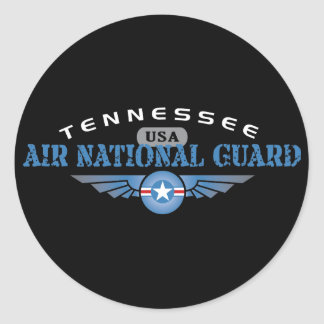 Tennessee Air National Guard Classic Round Sticker