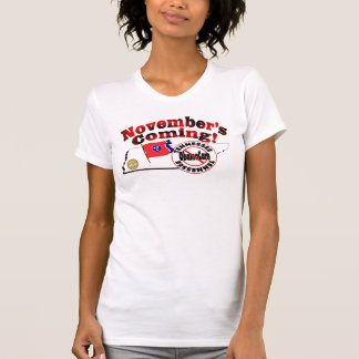 Tennessee Anti ObamaCare – November's Coming! Tshirts