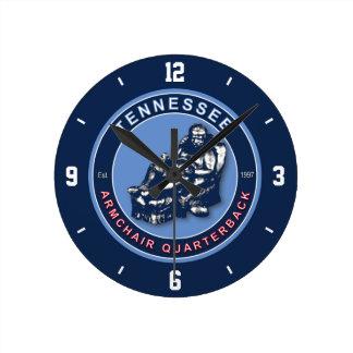 Tennessee Armchair Quarterback Wall Clock