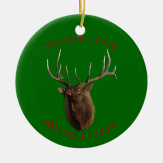 Tennessee Attitude Ceramic Ornament