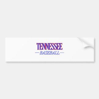 Tennessee baseball DESIGNS Bumper Sticker