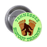 Tennessee Bigfoot Tracker Buttons