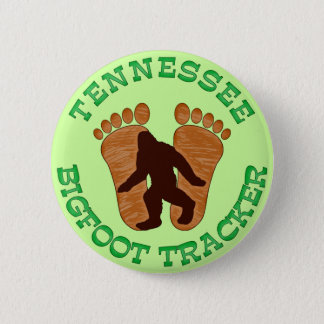 Tennessee Bigfoot Tracker Pinback Button