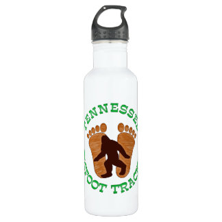 Tennessee Bigfoot Tracker Stainless Steel Water Bottle