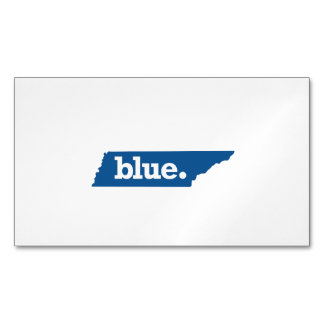 TENNESSEE BLUE STATE MAGNETIC BUSINESS CARD