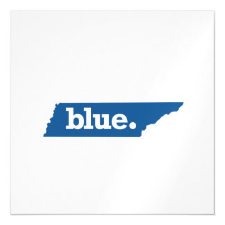 TENNESSEE BLUE STATE MAGNETIC CARD