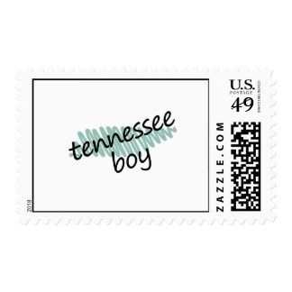 Tennessee Boy on Child's Tennessee Map Drawing Stamps
