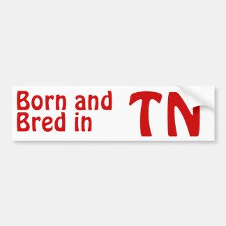 Tennessee Bred (Bumper) Sticker