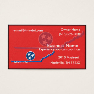 Tennessee Business Card