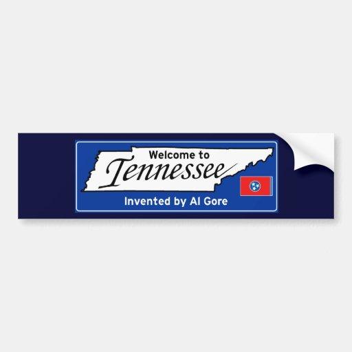 Tennessee Car Bumper Sticker