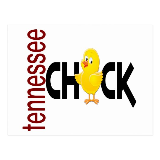 Tennessee Chick 1 Postcard