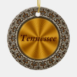 Tennessee Christmas Tree Ornament