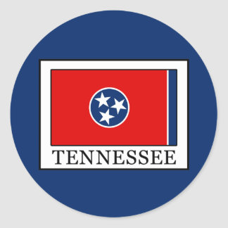 Tennessee Classic Round Sticker