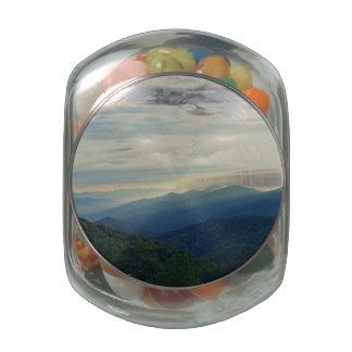 Tennessee Clouds Glass Jar