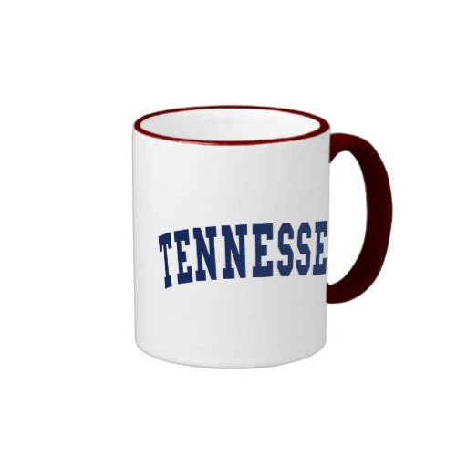 Tennessee College Ringer Coffee Mug