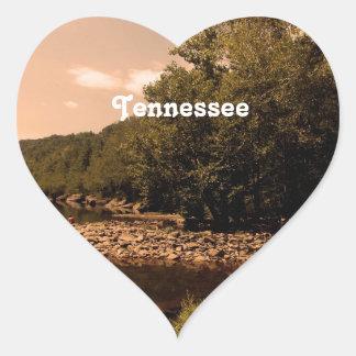 Tennessee Creek Heart Sticker
