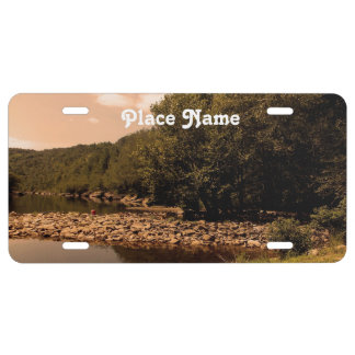 Tennessee Creek License Plate