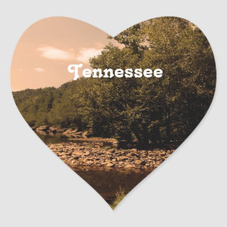 Tennessee Creek Heart Sticker