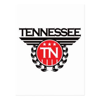Tennessee Crest Design Postcard