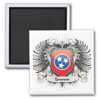Tennessee Crest Refrigerator Magnet