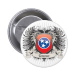 Tennessee Crest Pinback Button