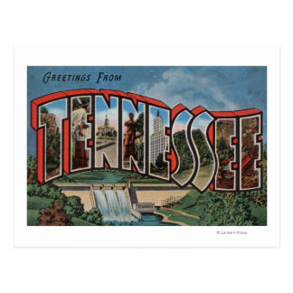 Tennessee (Dam)Large Letter ScenesTennessee Postcard