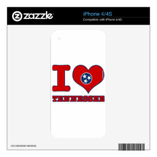 Tennessee Design iPhone 4S Skin