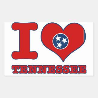 Tennessee Design Rectangular Sticker