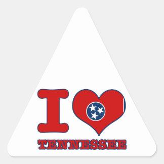 Tennessee Design Triangle Sticker