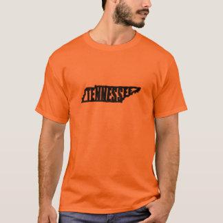 Tennessee Digitized from Senshaper Woodcut Print T-Shirt