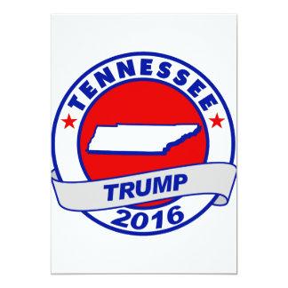 "Tennessee Donald Trump 2016.png Invitación 5"" X 7"""