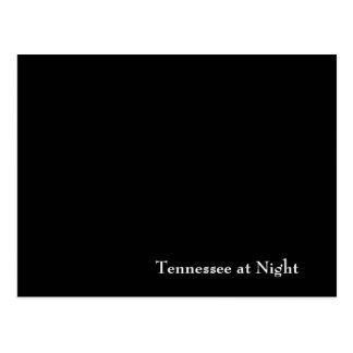 Tennessee en la noche tarjetas postales