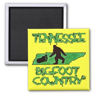 Tennessee es país de Bigfoot Imán Cuadrado
