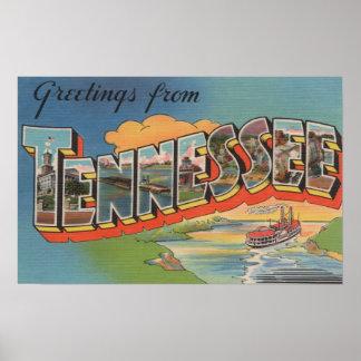 Tennessee (escena de la barca) poster