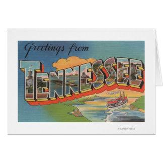 Tennessee (escena de la barca) tarjeton