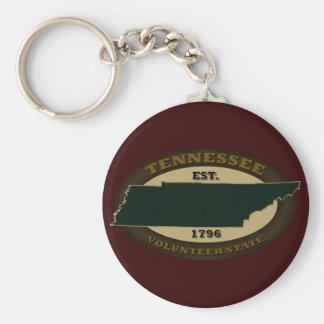 Tennessee Est. 1796 Keychain