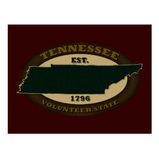 Tennessee Est. 1796 Postcard