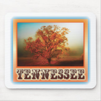 Tennessee Fall Tree Scene Mouse Pad
