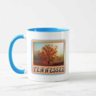 Tennessee Fall Tree Scene Mug