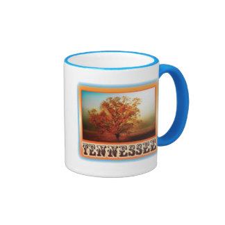 Tennessee Fall Tree Scene Coffee Mug