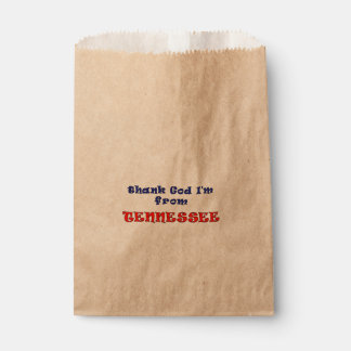 Tennessee Favor Bags