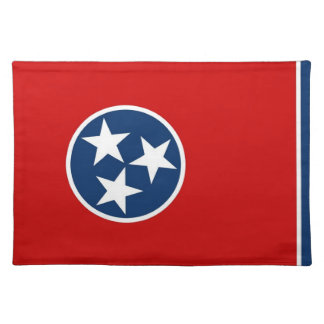 Tennessee Flag American MoJo Placemat