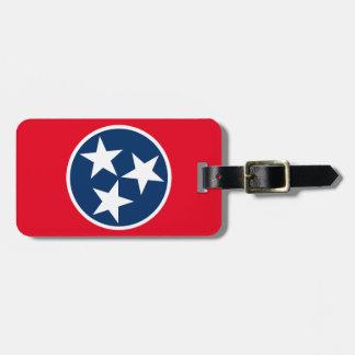 Tennessee Flag Bag Tag