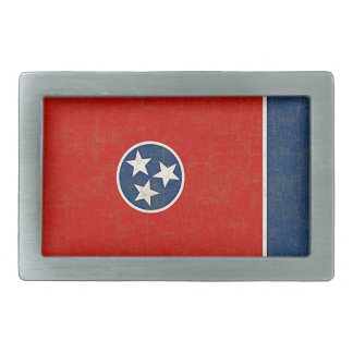 TENNESSEE FLAG BELT BUCKLE