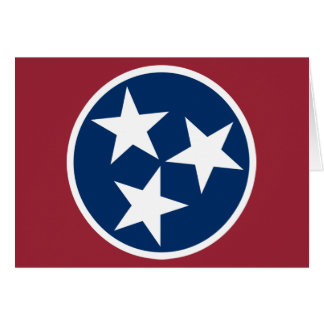 Tennessee Flag Card