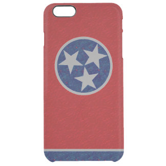 Tennessee Flag Clear iPhone 6 Plus Case