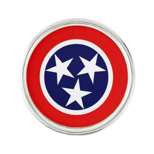 TENNESSEE Flag Design - Pin